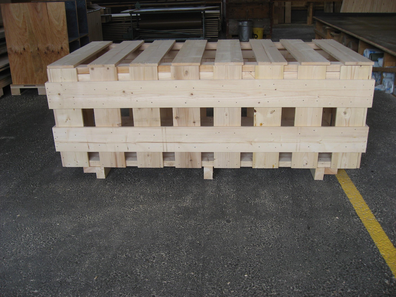 Caisserie, emballage en bois